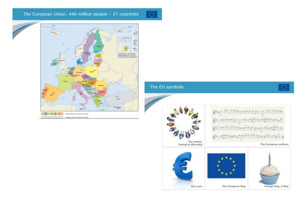 La UE: diapositivas
