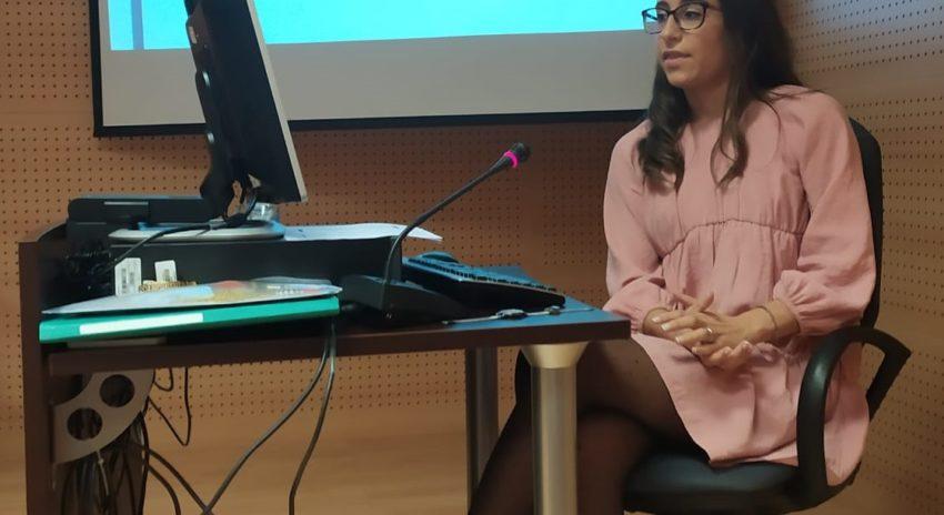 Carla Ovejas Ramírez, Universidad de La Rioja