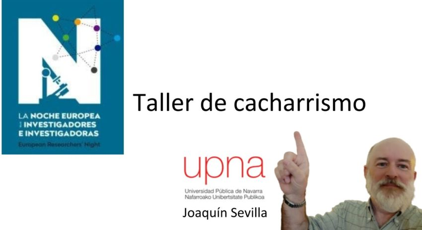 """Taller de """"cacharrismo"""", por Joaquín Sevilla Moróder"""